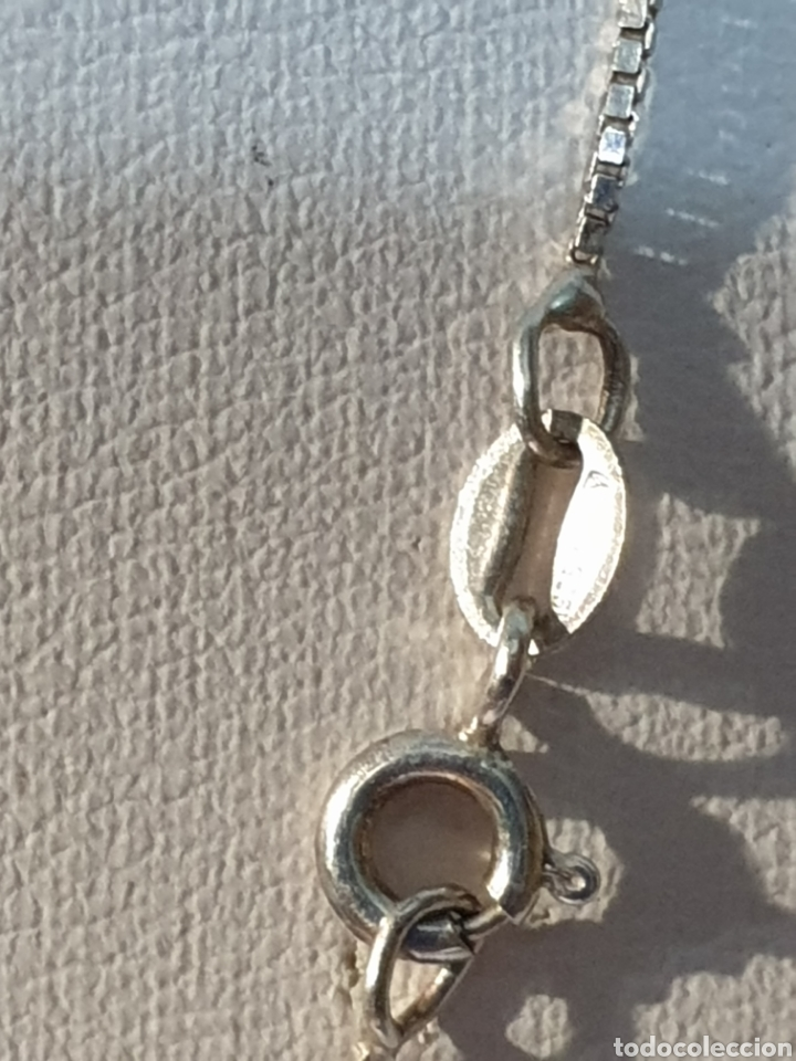 Joyeria: Excelente cadena de plata de ley 925 de cuadradillos brillantes - Foto 3 - 171549678