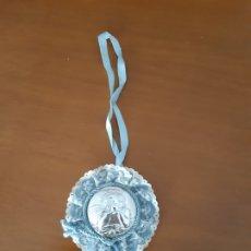 Joyeria: MEDALLA DE CUNA ANGELOTE PLATA BILAMINADA.. Lote 172241553