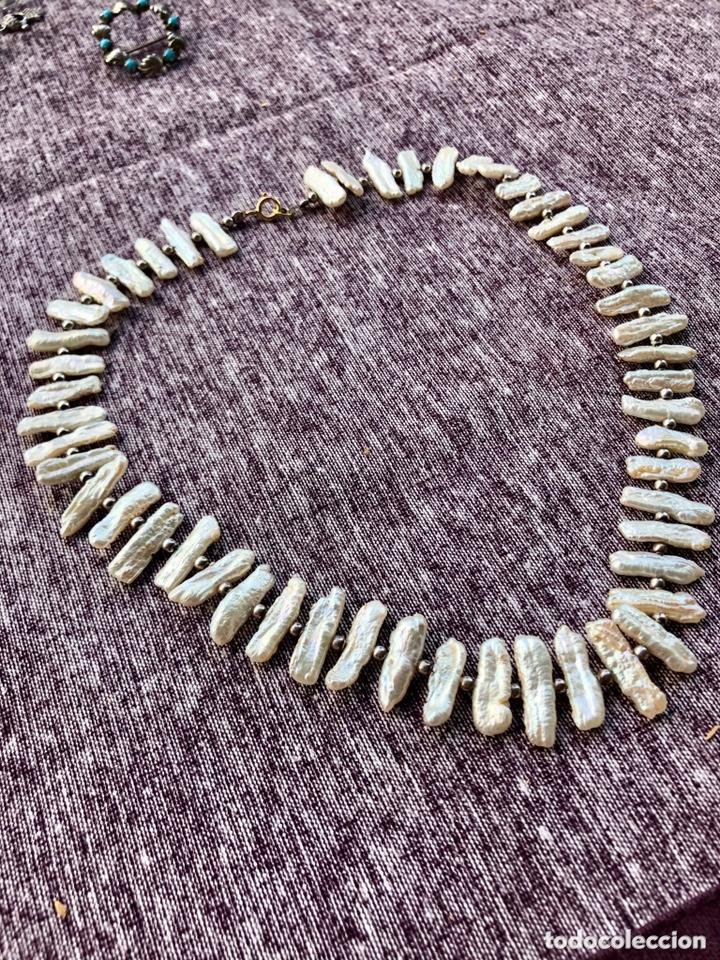 Joyeria: Collar perlas largas con cierre de oro 750 - Foto 2 - 172371239