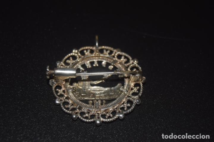 Joyeria: broche de moneda de plata 1870 - Foto 2 - 172429309