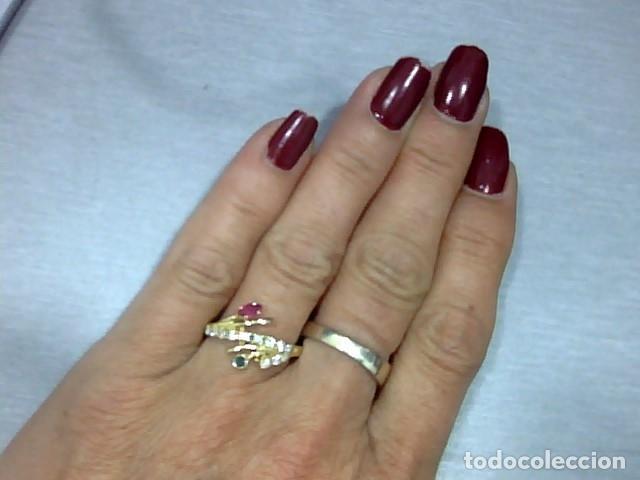Joyeria: anillo oro 18 kl ,diamantes - Foto 3 - 172749875