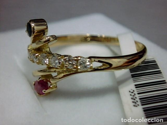 Joyeria: anillo oro 18 kl ,diamantes - Foto 7 - 172749875
