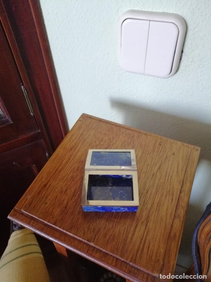 Joyeria: Cajita lapislázuli y plata 6 X 4 ctms. - Foto 2 - 172961383