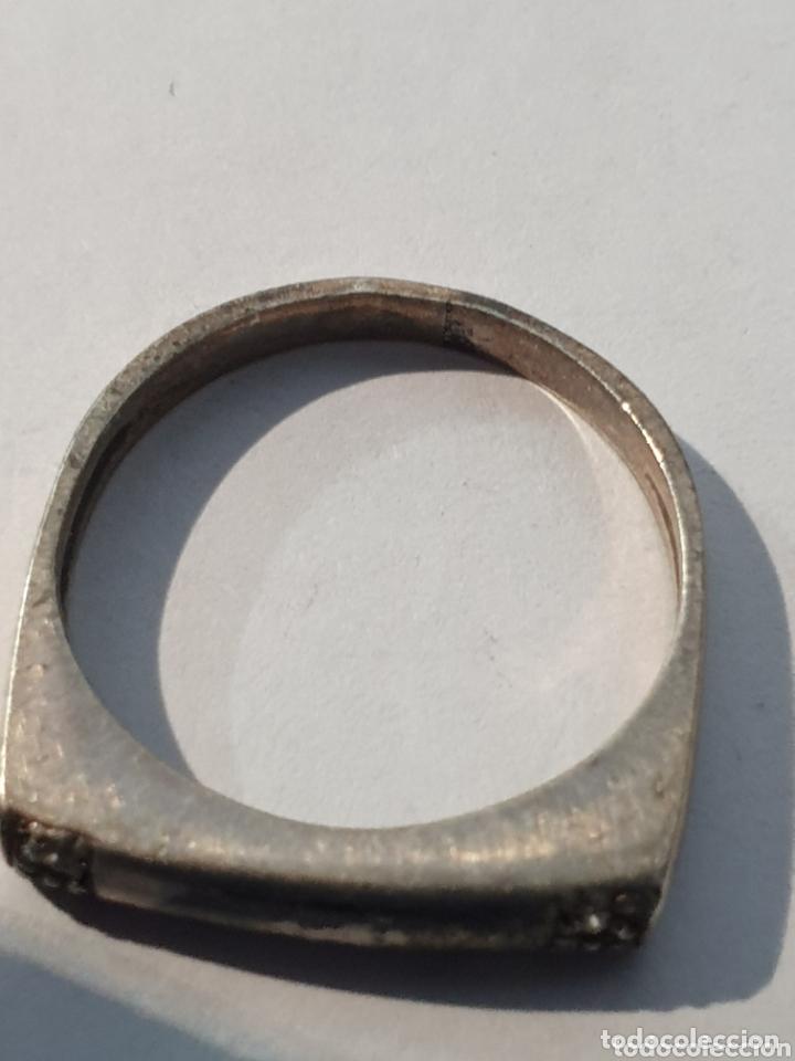Joyeria: Excelente anillo de plata 925 antiguo medida 14 - Foto 2 - 173026945