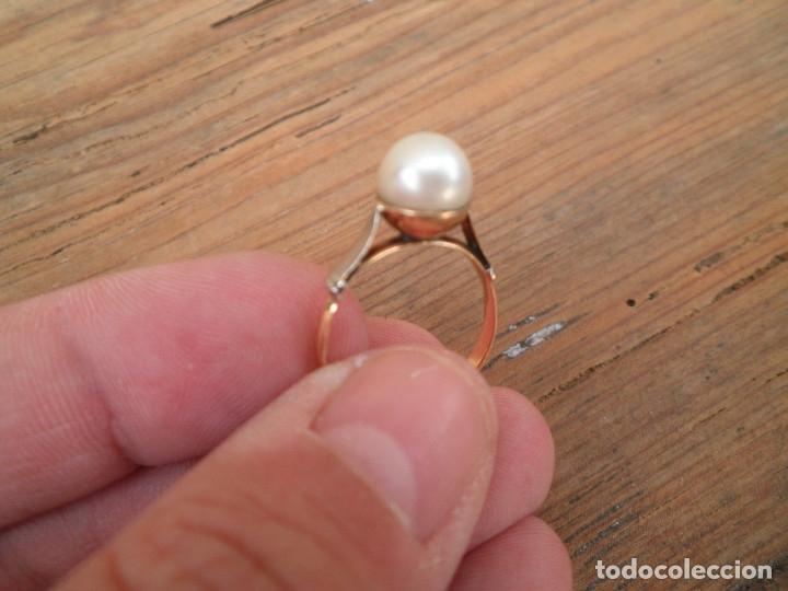 Joyeria: Anillo oro y perla antiguo - Foto 5 - 173123352
