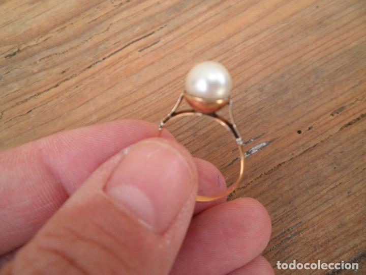 Joyeria: Anillo oro y perla antiguo - Foto 6 - 173123352