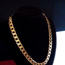 Joyeria: CADENA CUBANA GOLD FILLED 18K 12MM X 55CM. Lote 173865333