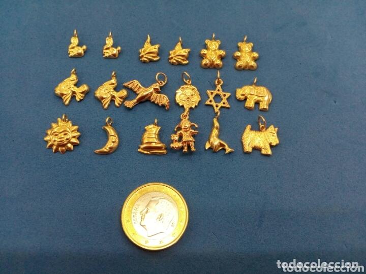 Joyeria: Lote 18 colgantes de Oro de 14K GF 1/20 - Foto 2 - 173965060