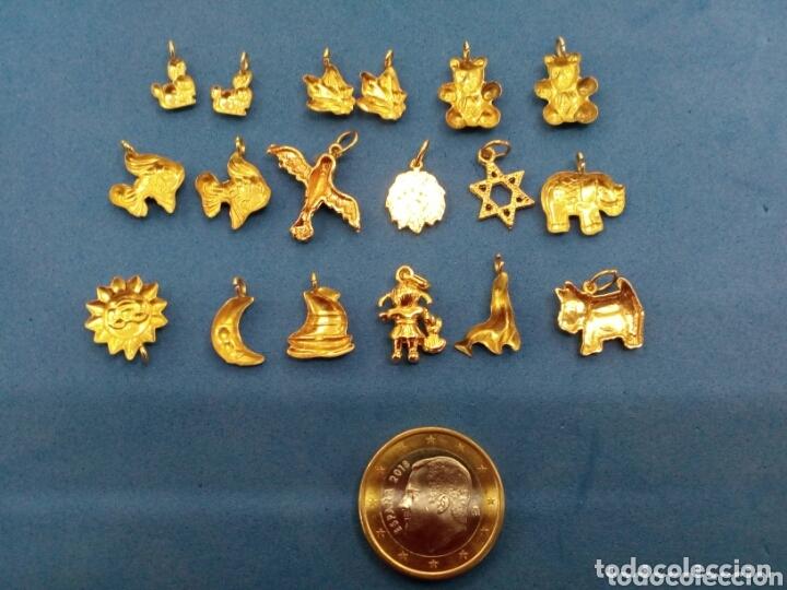 Joyeria: Lote 18 colgantes de Oro de 14K GF 1/20 - Foto 3 - 173965060