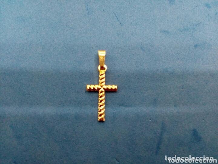 Joyeria: Lote 4 cruces de Oro 14K GF 1/20 - Foto 3 - 173966082