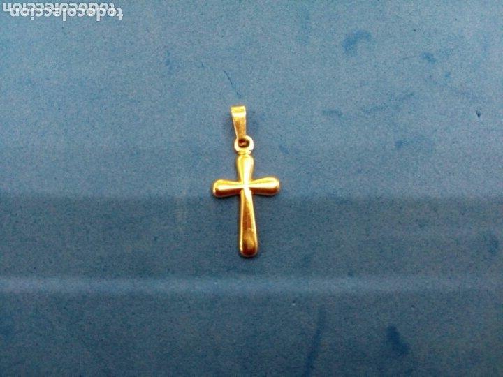 Joyeria: Lote 4 cruces de Oro 14K GF 1/20 - Foto 4 - 173966082