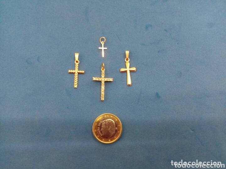 Joyeria: Lote 4 cruces de Oro 14K GF 1/20 - Foto 6 - 173966082