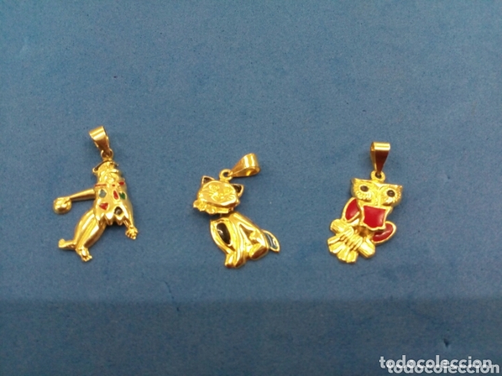 Joyeria: Lote 3 colgantes móviles de Oro de 14K GF 1/20 - Foto 2 - 173966984