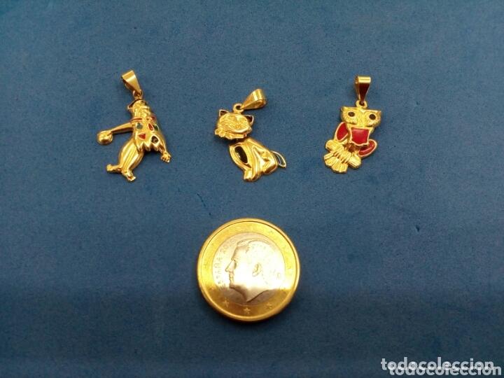 Joyeria: Lote 3 colgantes móviles de Oro de 14K GF 1/20 - Foto 3 - 173966984