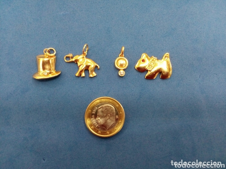 Joyeria: Lote 4 colgantes de Oro 14K GF 1/20 - Foto 2 - 173967607