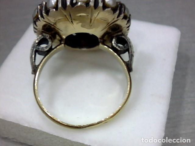 Joyeria: anillo oro 18 kl y topacio - Foto 5 - 174134507