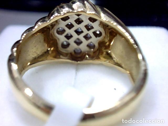 Joyeria: anillo oro 18 kl y diamantes - Foto 2 - 174208525