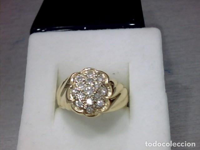 Joyeria: anillo oro 18 kl y diamantes - Foto 4 - 174208525