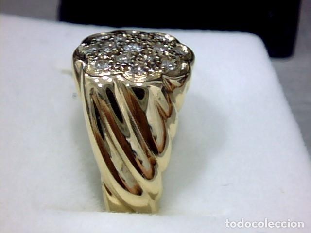 Joyeria: anillo oro 18 kl y diamantes - Foto 5 - 174208525