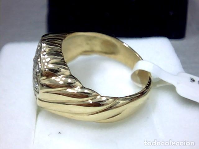 Joyeria: anillo oro 18 kl y diamantes - Foto 6 - 174208525