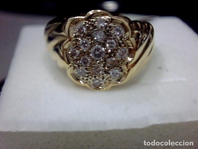 Joyeria: anillo oro 18 kl y diamantes - Foto 7 - 174208525
