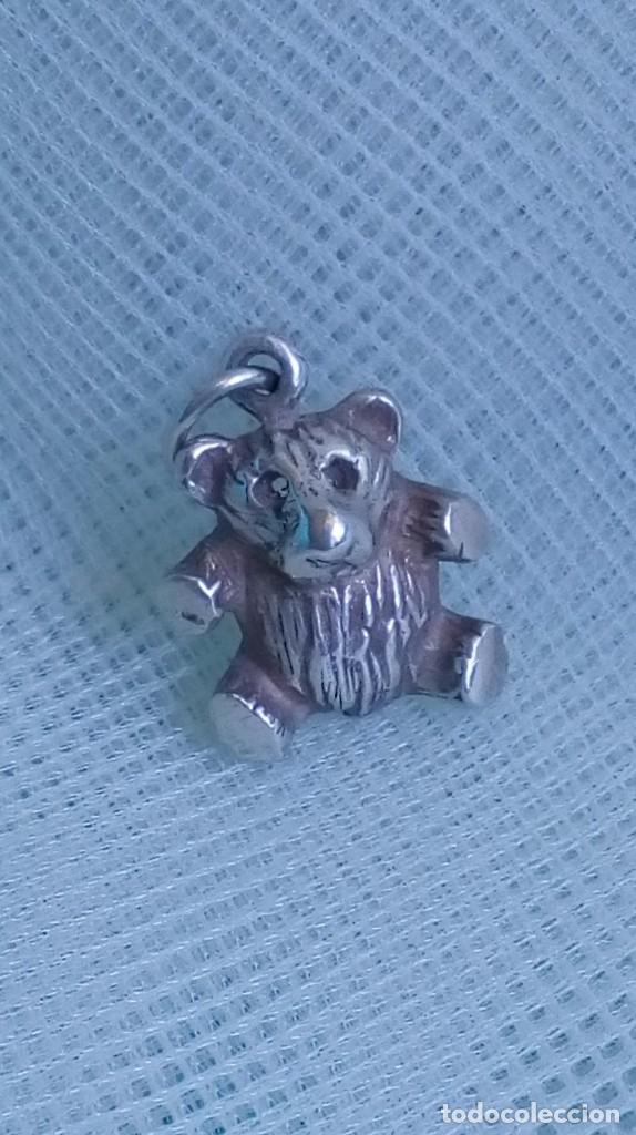 Joyeria: Colgante o dije de plata en forma de osito - Foto 4 - 174410792