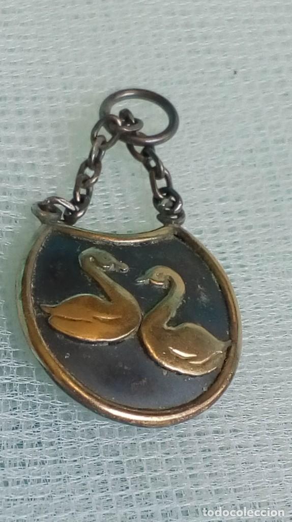 Joyeria: Original colgante de plata de dos cisnes - Foto 3 - 174411267