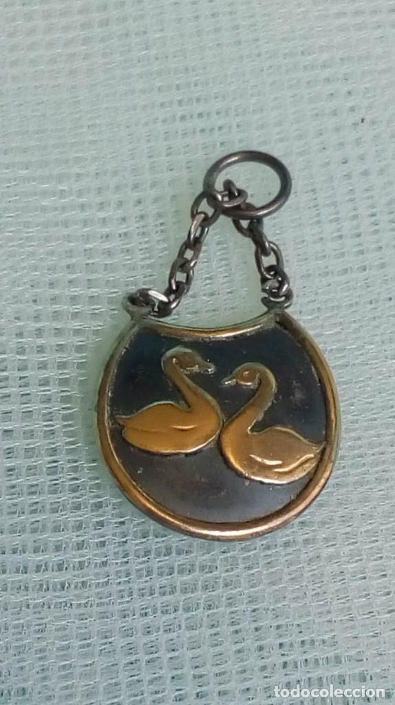 Joyeria: Original colgante de plata de dos cisnes - Foto 4 - 174411267