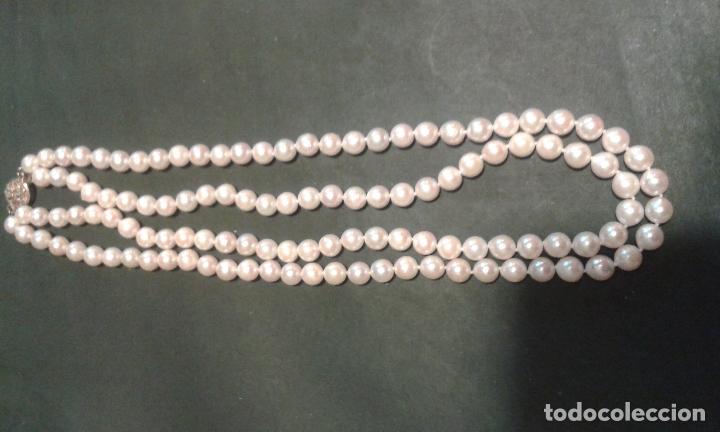Joyeria: Collar de perlas cultivadas y cierre de plata - Foto 4 - 99513871
