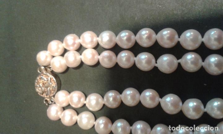 Joyeria: Collar de perlas cultivadas y cierre de plata - Foto 7 - 99513871