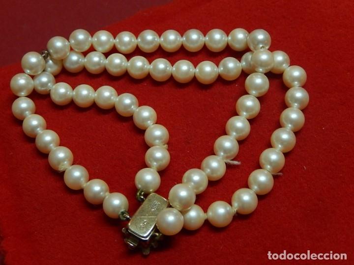 Joyeria: Pulsera de perlas, plata y coral. - Foto 3 - 174535698