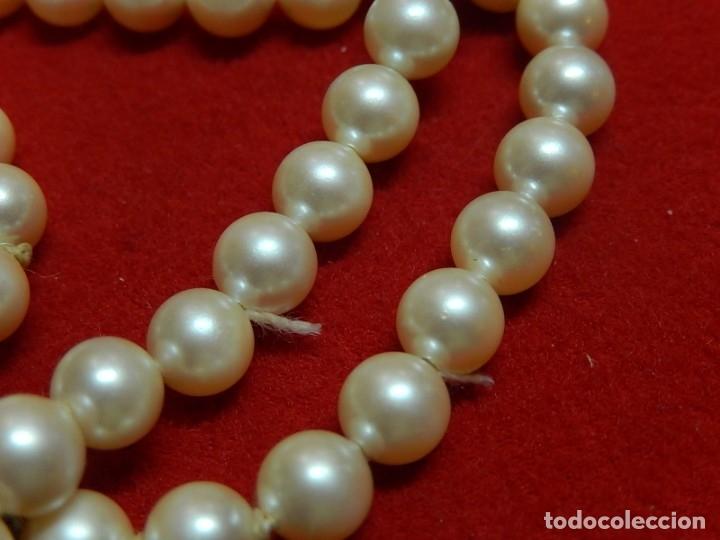 Joyeria: Pulsera de perlas, plata y coral. - Foto 9 - 174535698