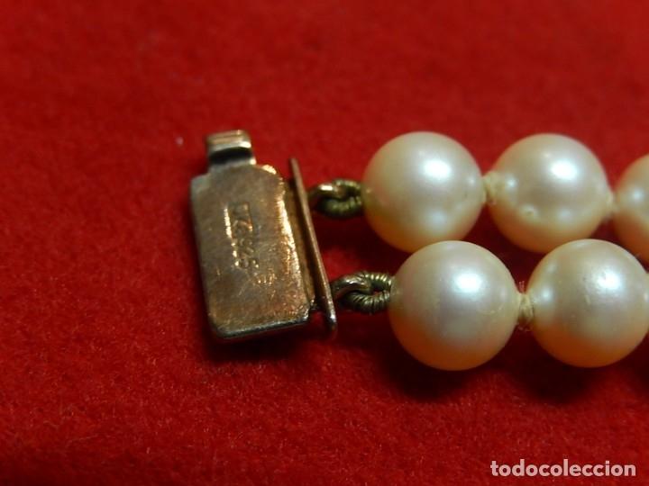 Joyeria: Pulsera de perlas, plata y coral. - Foto 7 - 174535698