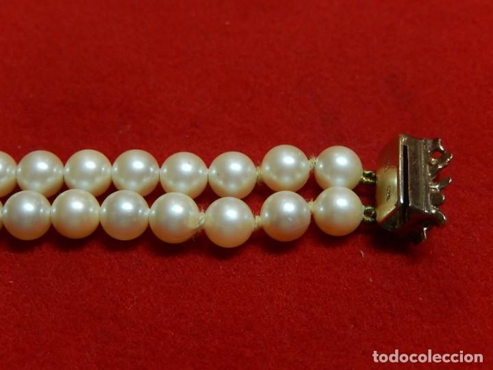 Joyeria: Pulsera de perlas, plata y coral. - Foto 20 - 174535698