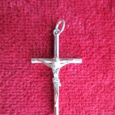 Joyeria: COLGANTE EN PLATA DE LEY - CRUZ DE CRISTO - SIN ESTRENAR. Lote 243343960