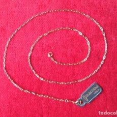 Joyeria: CADENA DE ORO GOLD FILLED 14/20 KLTS. GILCO. Lote 174576515
