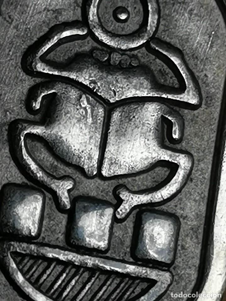 Joyeria: AMULETO TALISMAN EGIPCIO ESCARABAJO SCARABEO COLGANTE EN PLATA contrastada - Foto 25 - 174984407