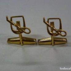 Joyeria: GEMELOS DORADOS.. Lote 175195790