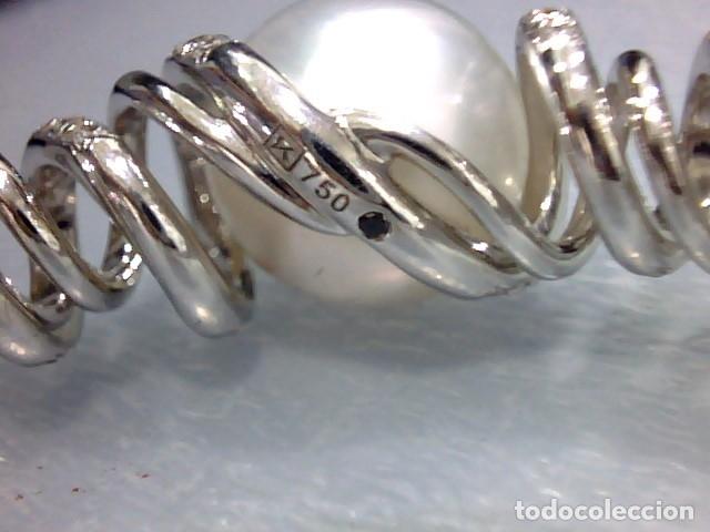 Joyeria: brazalete oro blanco 18 kl,perlas australianas y diamantes - Foto 11 - 175212994