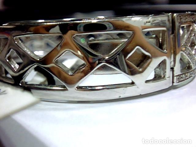 Joyeria: brazalete oro blanco 18kl y diamantes - Foto 11 - 175582714