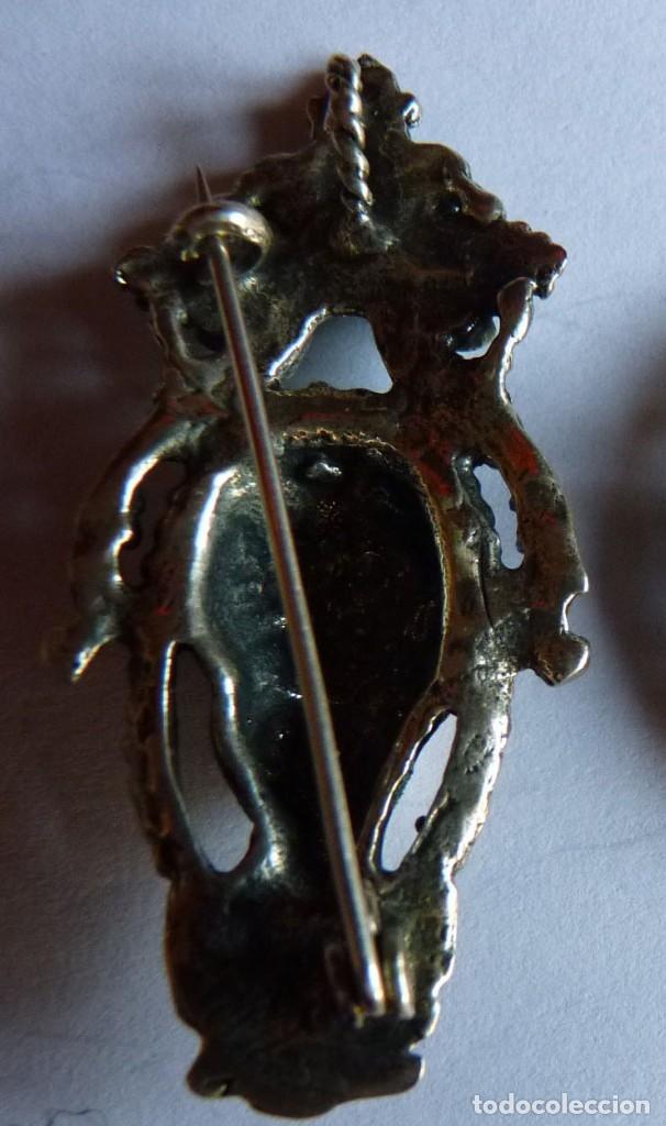 Joyeria: Broche - Colgante de estilo Modernista en plata de ley. Contrastada. Perfecto. Años 80 - Foto 2 - 175590913