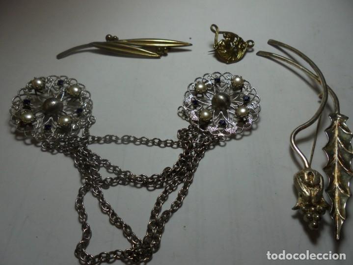 Joyeria: magnifica coleccion de 40 broches antiguos vintage de aguja de los años 60-70 - Foto 5 - 176195728