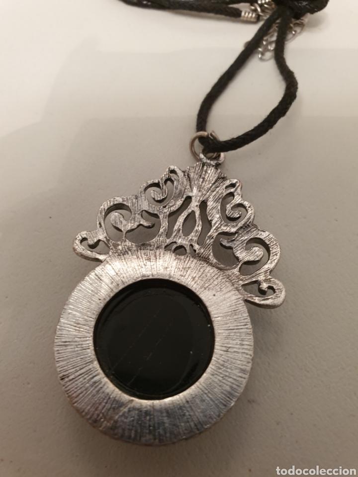 Joyeria: Colgante filigrana con cordón de tela negro - Foto 3 - 176215957
