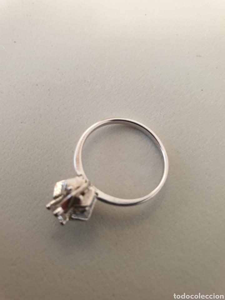 Joyeria: Bellísimo anillo de plata de ley antiguo rodiado - Foto 2 - 176268969