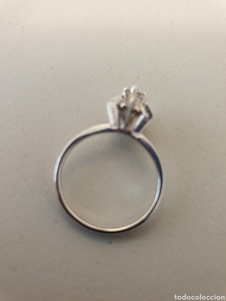 Joyeria: Bellísimo anillo de plata de ley antiguo rodiado - Foto 3 - 176268969