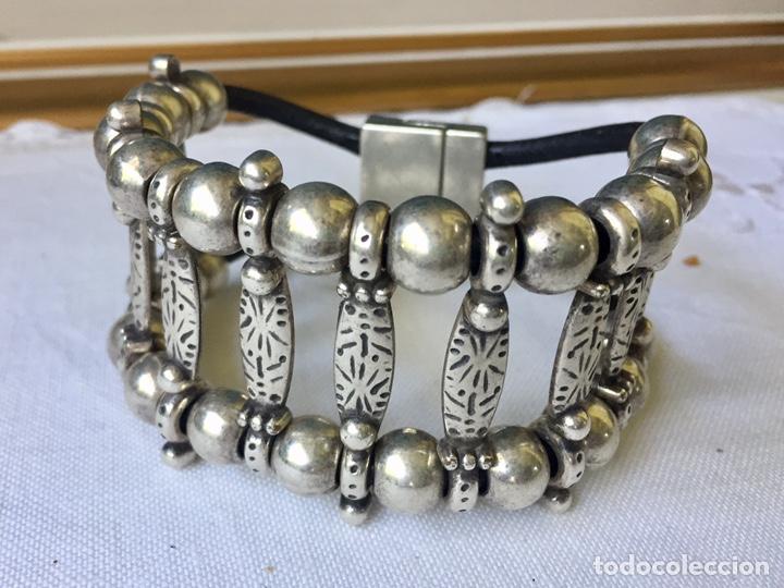 Joyeria: Brazalete vintage de plata - Foto 6 - 177050687