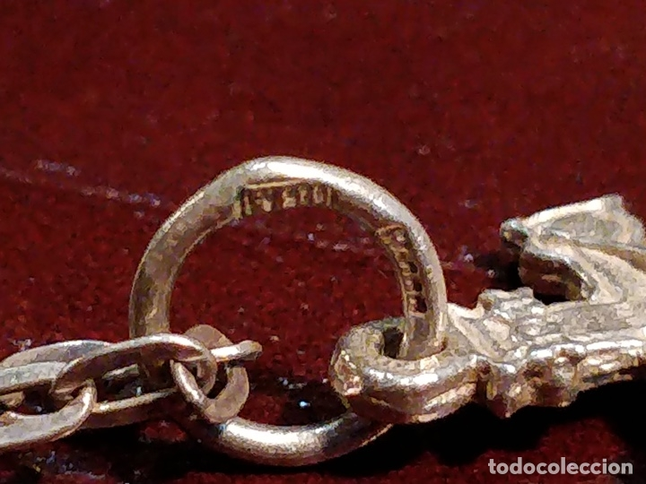 Joyeria: Cruz de Caravaca con cadena, plata 925 - 5.5g y 60cm abierta - Foto 3 - 177263657