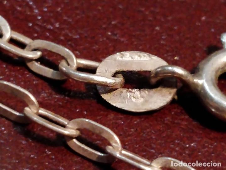 Joyeria: Cruz de Caravaca con cadena, plata 925 - 5.5g y 60cm abierta - Foto 4 - 177263657