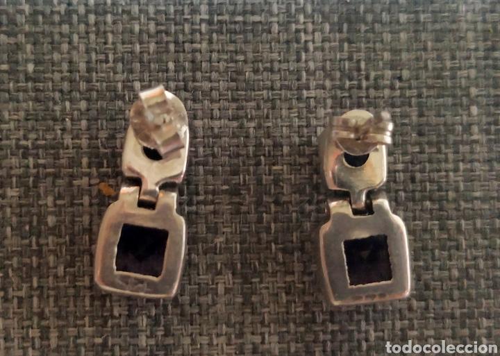 Joyeria: Pendientes plata de ley & Amatistas - Foto 4 - 177310075