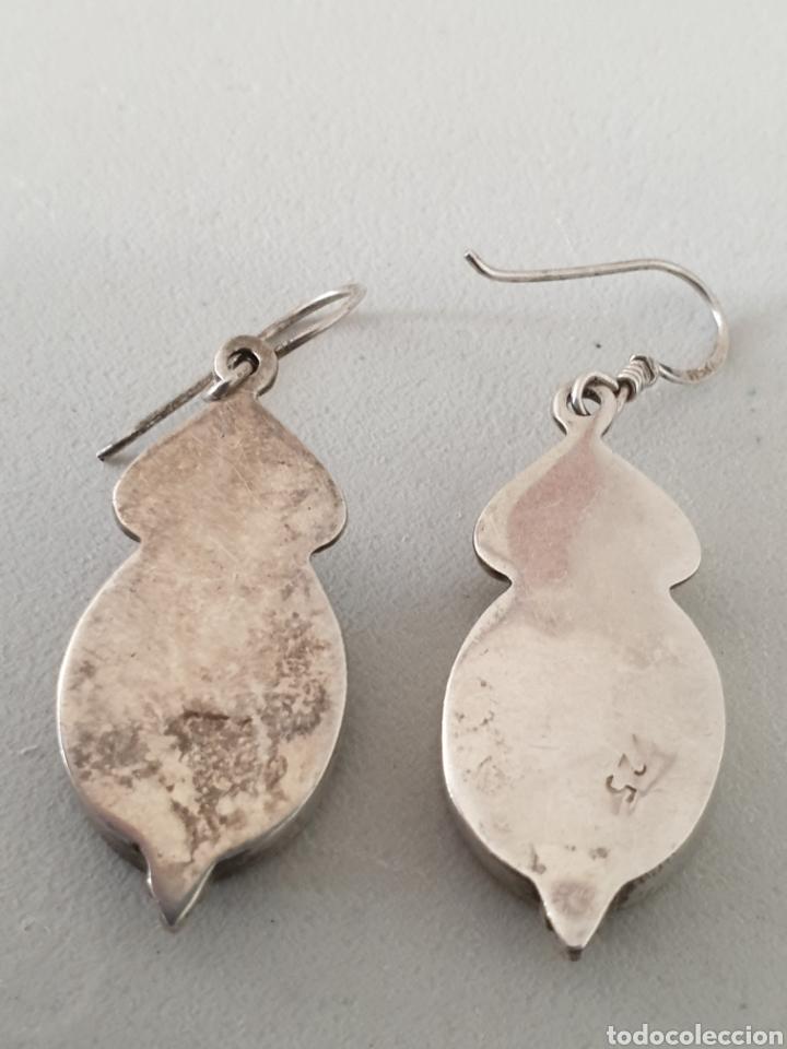 Joyeria: Preciosos pendientes de diseño plata de ley 925 onix - Foto 2 - 177598797